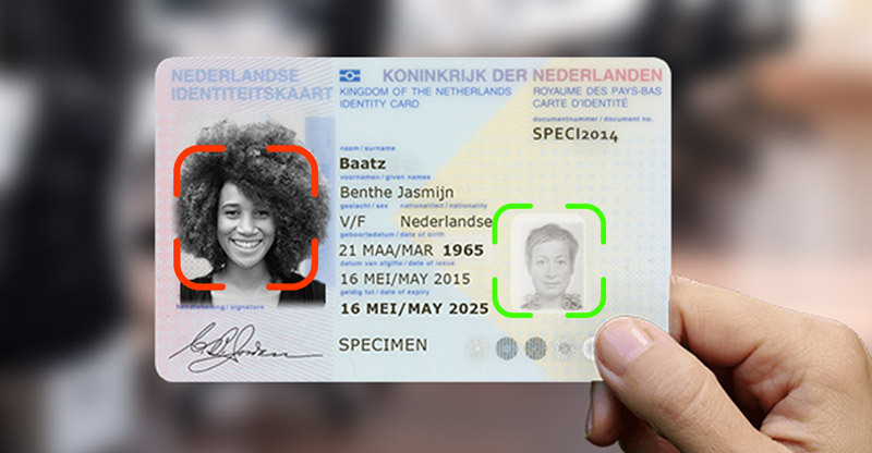 Fake Face on ID